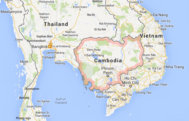 cambodia_thailand_map