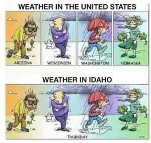 weather in idaho